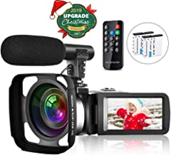 Video Camera Camcorder Vlogging Camera for Youtube Full HD 2.7K 30FPS 30 MP IR Night..