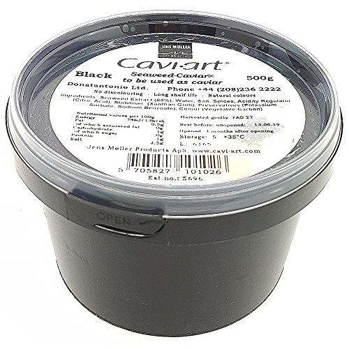 Cavi-Art® Algen-Kaviar, schwarz, 500g
