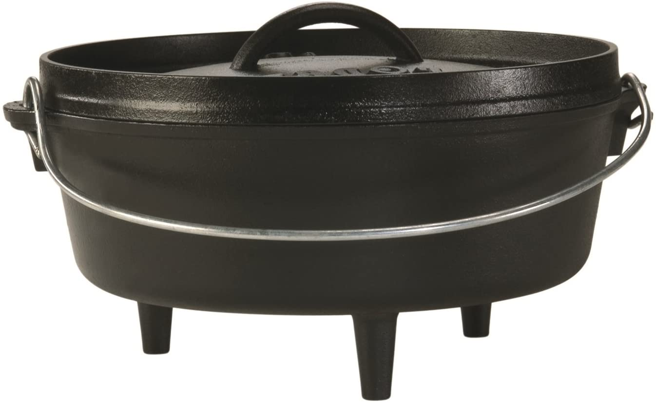 Lodge 25.4 cm 3.79 litre High quality new 4 Cast Outd quart Pre-Seasoned Sales of SALE items from new works Iron