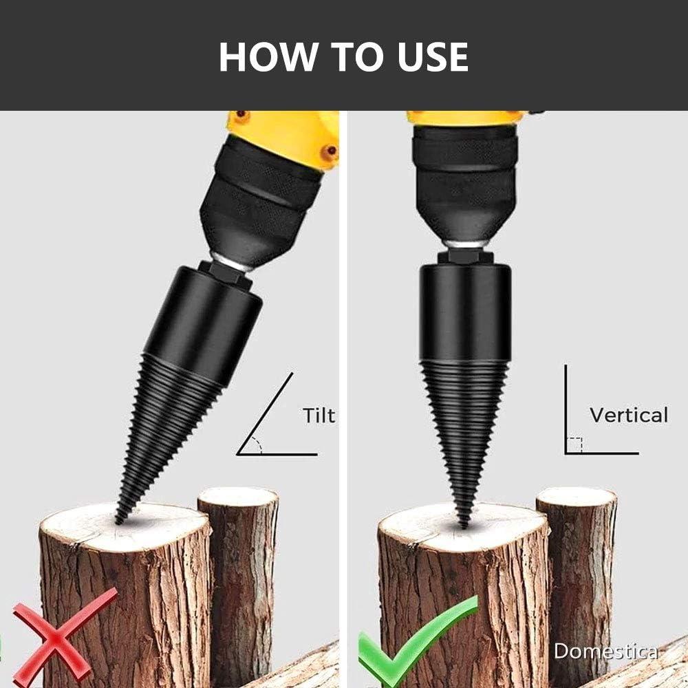 32mm firewood Drill bit Firewood Log Splitter Drill Log Splitter ...