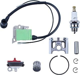 Haishine 50mm Pistón Bobina de Encendido Módulo de Interruptor de Parada para Husqvarna 268 266 Piezas del Motor de la Motosierra