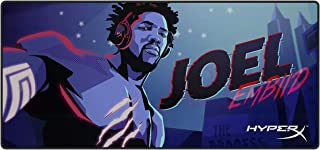 HyperX Fury S - Pro Gaming Mouse Pad - Joel Embiid - Limited Edition Heroes - Cloth Surface Optimized for Precision, Stitched Anti-Fray Edges, X-Large 900x420x4mm (HX-MPFS-XL-JEG)