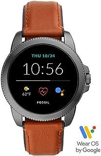 Fossil Herren Touchscreen Smartwatch 5 + 5E. Generation mit Lautsprecher, Herzfrequenz, GPS, NFC und Smartphone Benachrich...
