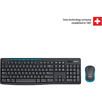 Logitech MK275 Wireless Keyboard and Mouse Combo
