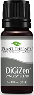 Plant Therapy DiGiZen Synergy Essential Oil 10 mL (1/3 oz) 100% Pure, Undiluted, Therapeutic Grade