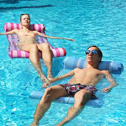FindUWill Hammock Inflatable Pool Float