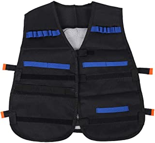 Cuerpo Molle para ni/ños Alomejor Armor Chaleco de Nailon CS para Juegos con m/últiples Bolsas
