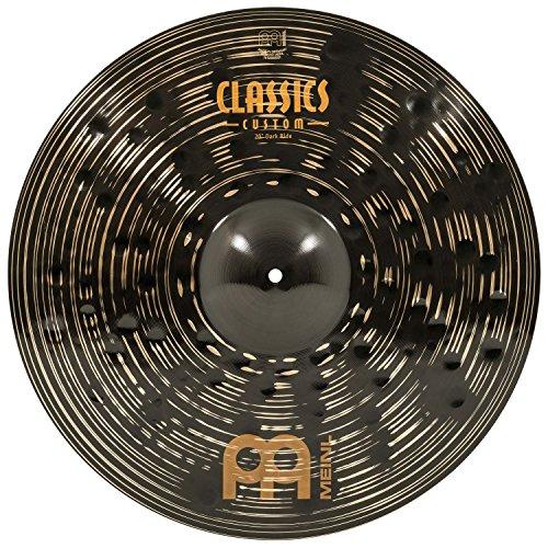 Meinl Classics Custom Dark 20 Zoll (50,80cm) Ride Becken für Schlagzeug – B10 Bronze, Dunkles Finish (CC20DAR)