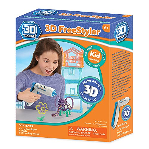 3D eléctrica 3D Freestyler–Bolígrafo