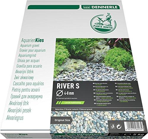 Dennerle Naturkies Plantahunter River 4-8 mm - Aquarienkies, Bodengrund fürs Aquarium