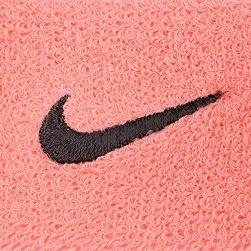 Nike Swoosh Headband pink gaze/oil grey - 2