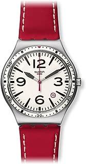 Swatch Women's YWS403 Caterhred Year-Round Analog Quartz Red Watch