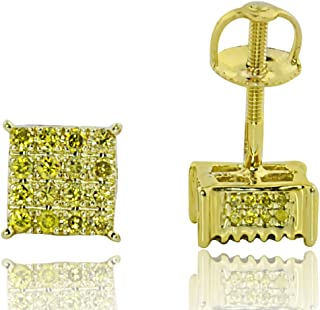 Best canary diamond earrings for mens Reviews
