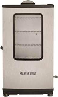 Masterbuilt 20070311 40-Inch Top Controller Electric Smoker with Window and RF Controller