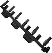 ECCPP Replacement for Ignition Coil, Ignition Coil Packs UF296 Jeep Cherokee/Jeep Grand Cherokee/Jeep Wrangler 2000-2006 (Pack of 1)