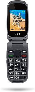 SPC Harmony mobiele telefoon Dual Sim met telefoonboek, grote cijfers en letters, directe opslag en SOS-knop