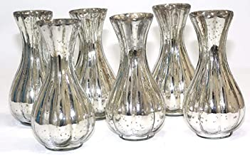 BD Crafts Antique Silver Glass Bud vase (6)
