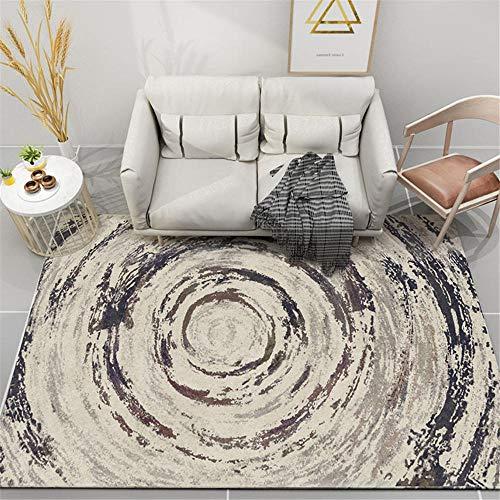 Kunsen 0 Geometric bedroom, living room, soft carpet, non-slip, easy care 0 0 Black 140X200CM