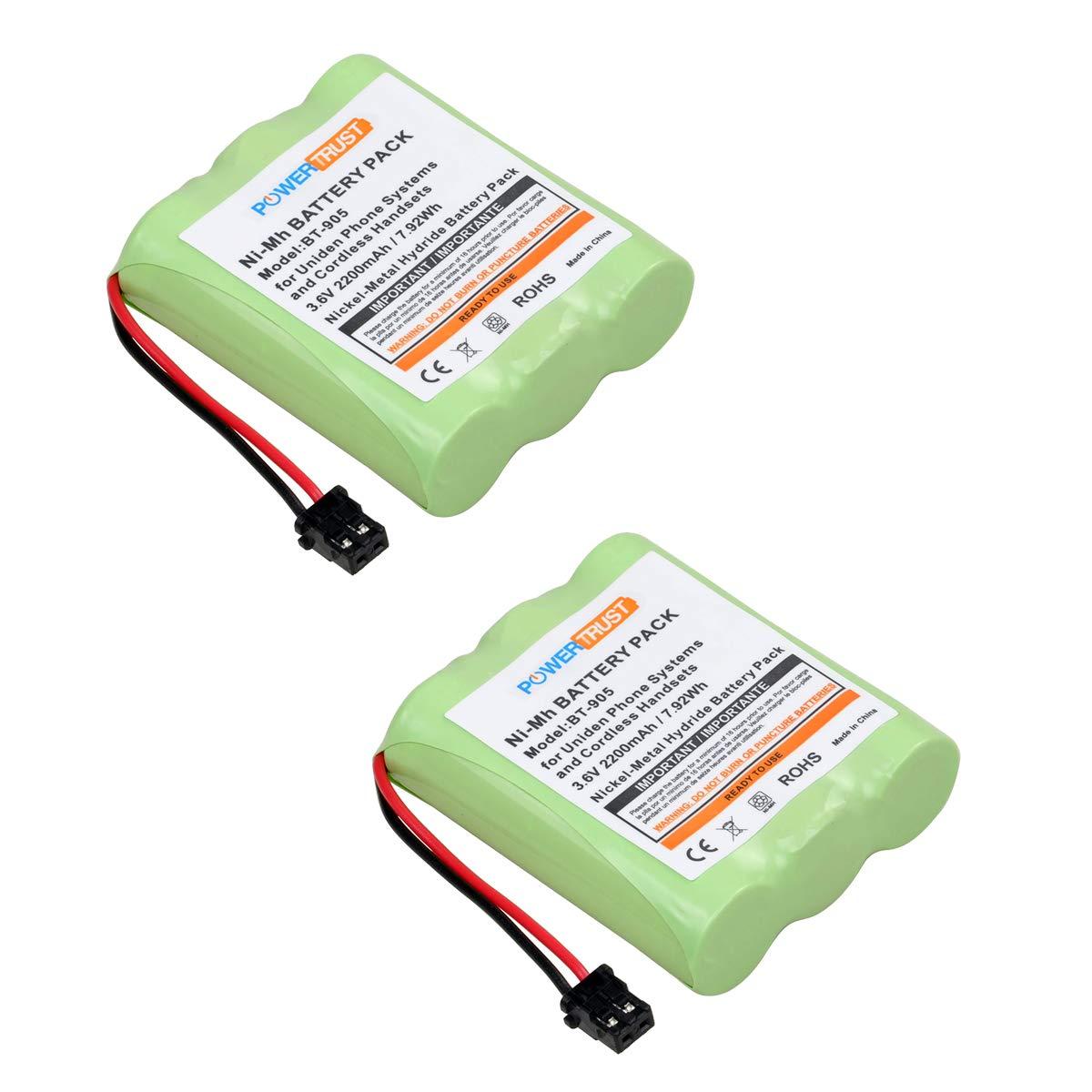 2 Bateria p/ BT905 BT800 BT-1006 BP-905 P-P501 BP-905BBTY-04