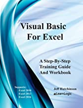Visual Basic For Excel: Supports Excel 2010, 2013, And 2016 (Excel 2016-5)