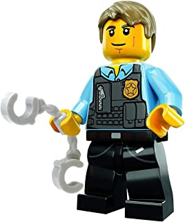LEGO City MiniFigure: Police - Undercover Chase McCain (Dark Blue Legs w/ Handcuffs)
