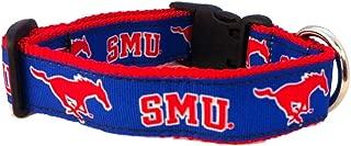 NCAA Southern Methodist Mustangs Dog Collar, Team, Large