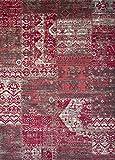 DiB BSA060-1005/102 Tapete Decorativo Star Patch, Color Rojo, 60x110 Cm