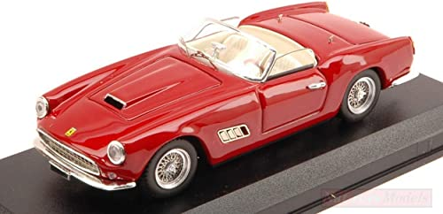 venta directa de fábrica Art Model AM0325 Ferrari 250 250 250 California 1957 rojo Scuro 1 43 MODELLINO Die Cast Compatible con  nuevo listado