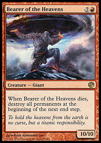 Magic The Gathering - Bearer of The Heavens (/165) - Journey into Nyx