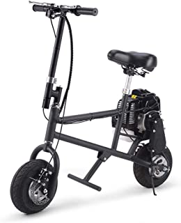 SAY YEAH Gas Bike 50cc 2-Stroke Petrol Motorized Mini Scooter, Adult Super Folding Bicycle, Gas Powered Kids Mini Dirt Bike Motocross Bike, EPA Approved