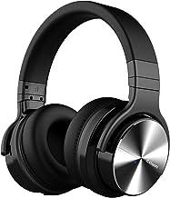 Cowin E7 Pro [Actualización] Auriculares inalámbricos Bluetooth con micrófono Hi-Fi de Graves Profundos, (Hi-Res Audio, cancelación de Ruido, Bluetooth,30 Horas de autonomía) (Negro)