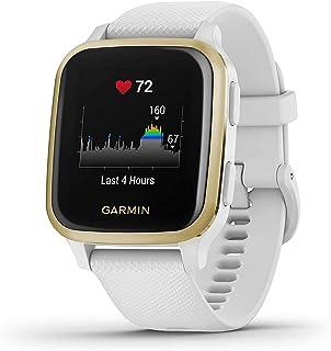 Garmin Venu Sq Smartwatch, Gezondheidshorloge, Geïntegreerde GPS, Multisport, Cardio, Pols, Garmin Pay, Lange Looptijd, Wi...