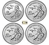 2021 Various Mint Marks America the Beautiful Tuskegee Airmen SSPD SSPD America the Beautiful Quarters Tuskegee Airmen Last one in America the Beautiful Series US MINT
