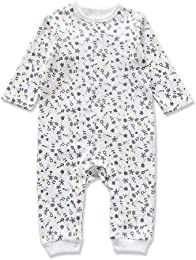 Pyjama pour Bébé Combinaison en Coton Fille Grenou