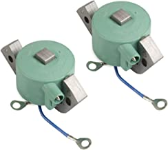 2 PCS Replace 582995 584477 580416 18-5181D Igintion Coil Compatible with OMC Johnson Evinrude Outboard (584477)