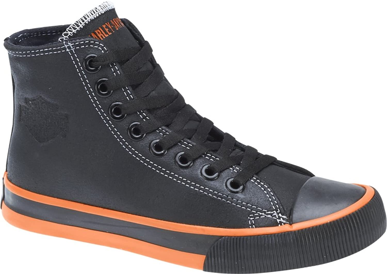 HARLEY DAVIDSON DAVIDSON DAVIDSON skor High Top skor NATHAN - svart, Storlek EUR 43  försäljning online rabatt lågt pris