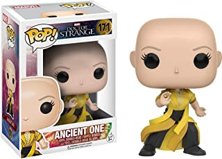 Funko Ancient One: Doctor Strange x POP! Figura de vinilo de Marvel y 1 POP. Paquete de protectores gráficos de plástico PET compatibles [#171/10181-B]