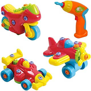 PlayGo Junior Mechanic Motorcycle - 3 Years & Above (Multi Color 4892401020123)