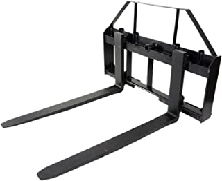 """Pallet Forks Attachment for Tractors and Loaders, Skid Steer, Quick Tach, 42"""""""