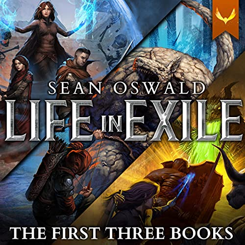 Life in Exile Books 1-3 Audiobook By Sean Oswald cover art