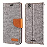 Acer Liquid Z630 Case, Oxford Leather Wallet Case with Soft