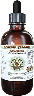 Arjuna Alcohol-Free Liquid Extract, Organic Arjuna (Terminalia Arjuna) Dried Bark Glycerite Herbal Supplement 2 oz