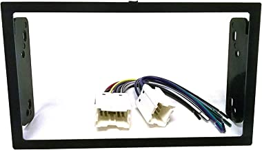Dash kit and Wire Harness for Installing a New Double Din Radio into a Nissan 200sx (95-98), Altima (98-2001), Frontier (98-2004), Maxima (95-99), Sentra (95-99), Xterra (2000-04)