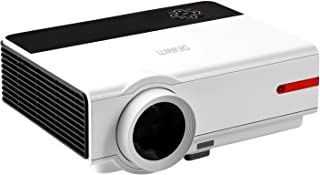 Devanti 5000 Lumens Portable Mini Video Projector with 200'' Projection Size for 1080P Home Cinema Movies Video Game Outdo...