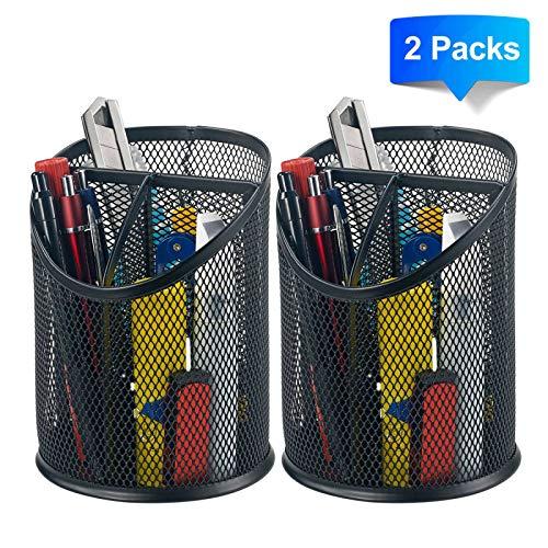 Bonsaii 2 Pack Pencil Organizer Compartments