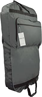 "DALIX 39"" Grey Business Garment Bag Pockets for Suits Dresses Clothing Foldable"