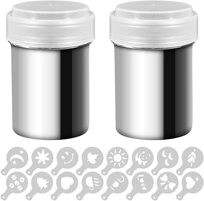 1668 opinioni per Senhai 2 Acciaio Inossidabile in Polvere Shakers, lattine Mesh Shaker Polvere di