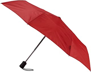Lewis N. Clark Automatic Travel Umbrella, Red (Red) - 413RED