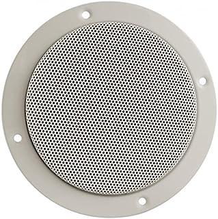 20kHz Frequency Response Flush Mount 65HZ 75 Watts Maximum Power 1 Voice Coil Size Jensen MSX65R Pair 6.5 Marine Hi-Performance Waterproof Coaxial Speakers 4 Ohms Impedance