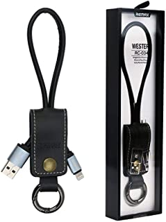 Remax RC-034i Western Lightning USB Cable - Black